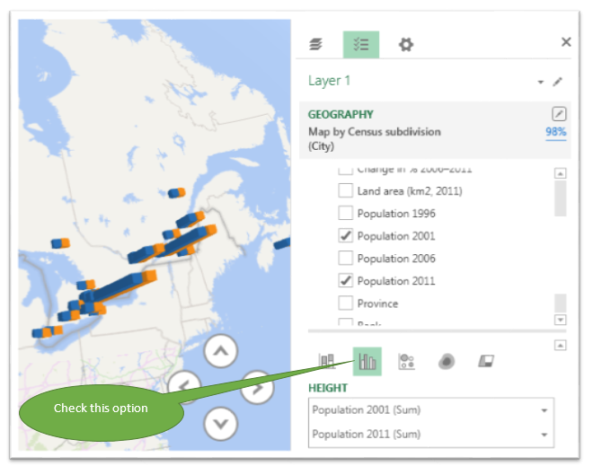 how to create a perceptual map in excel 2013