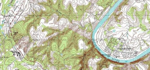 Hardcopy Photogrammetry (Topography Map)