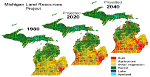 10. Determine land use/land cover changes