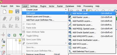 Menu bar add layer