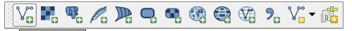 add vector layer button