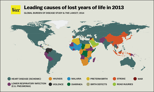 disease map