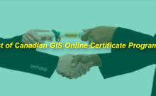 List of Canadian GIS Certificate