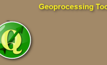 Geoprocessing tools