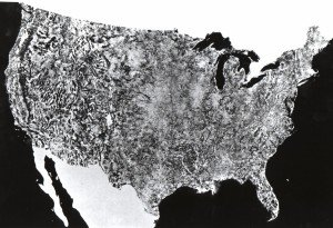 First Air Photo of the United States by NASA
