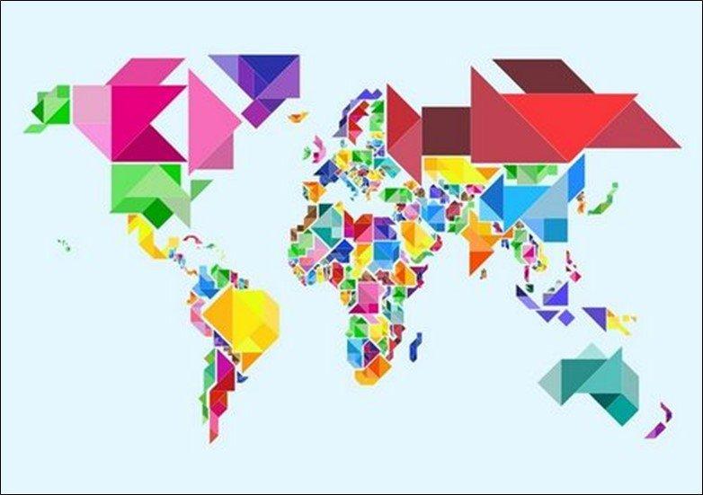 Apple World Map