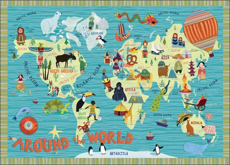 Kids World Map