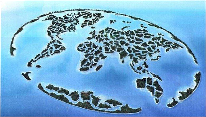 Dubai World Map