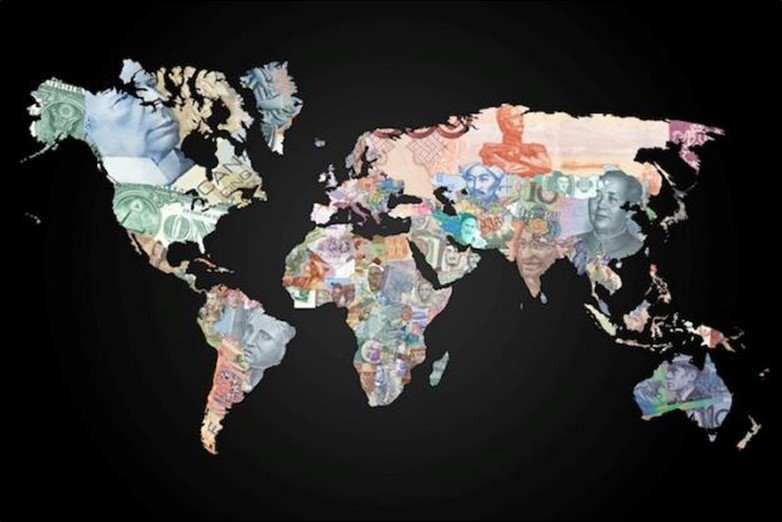 Money World Map