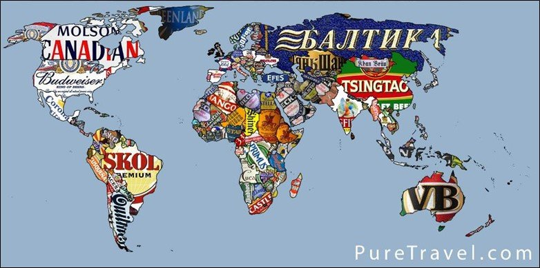 Beer Lover World Map