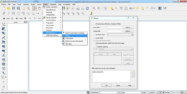QGIS Layer stack / merge the file