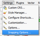 snapping options