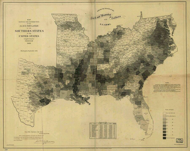 The map Abraham Lincoln used to see the reach of slavery