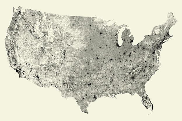All the streets in the United States
