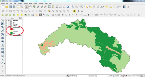 Weighted Sum Raster Overlay Analysis using QGIS