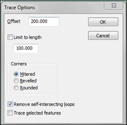 trace tool option