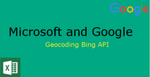 Geocoding with Microsoft Excel and Bing Maps API