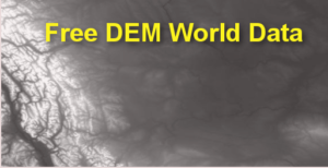 Free World DEM Data, 3D in your Computer