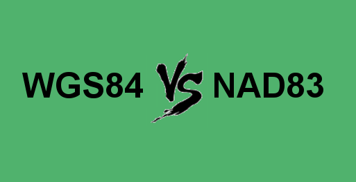WGS84 Vs NAD83