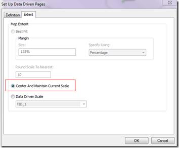 Data Driven Pages Setup Extent