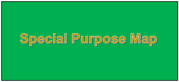 What is Special Purpose Map – Definition in Geography
