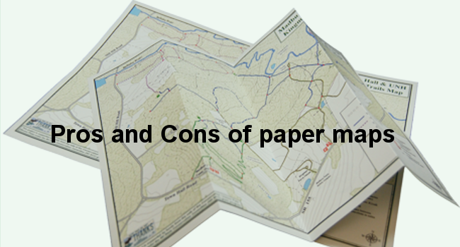 Pros and Cons of Paper Maps