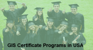 30 GIS Certificate Programs in USA
