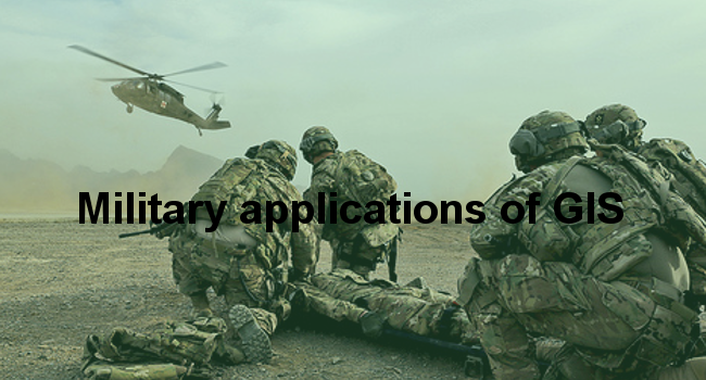 Military applications of GIS