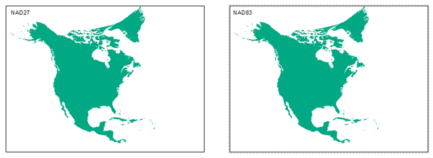 NAD83 vs NAD27