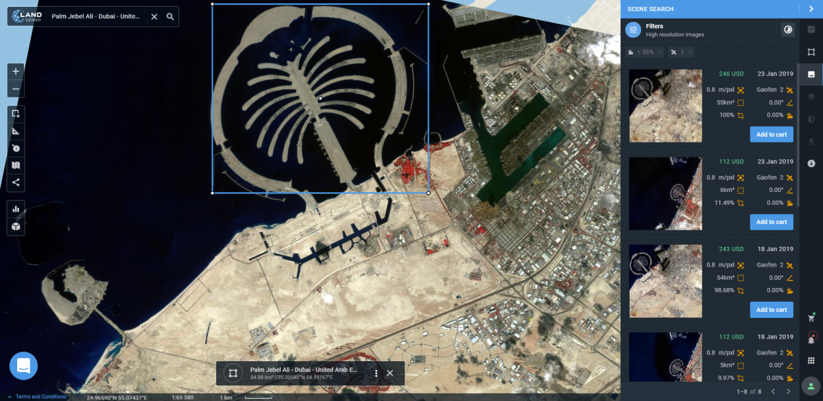 Satellite Remote Sensing Analysis is Easy with LandViewer